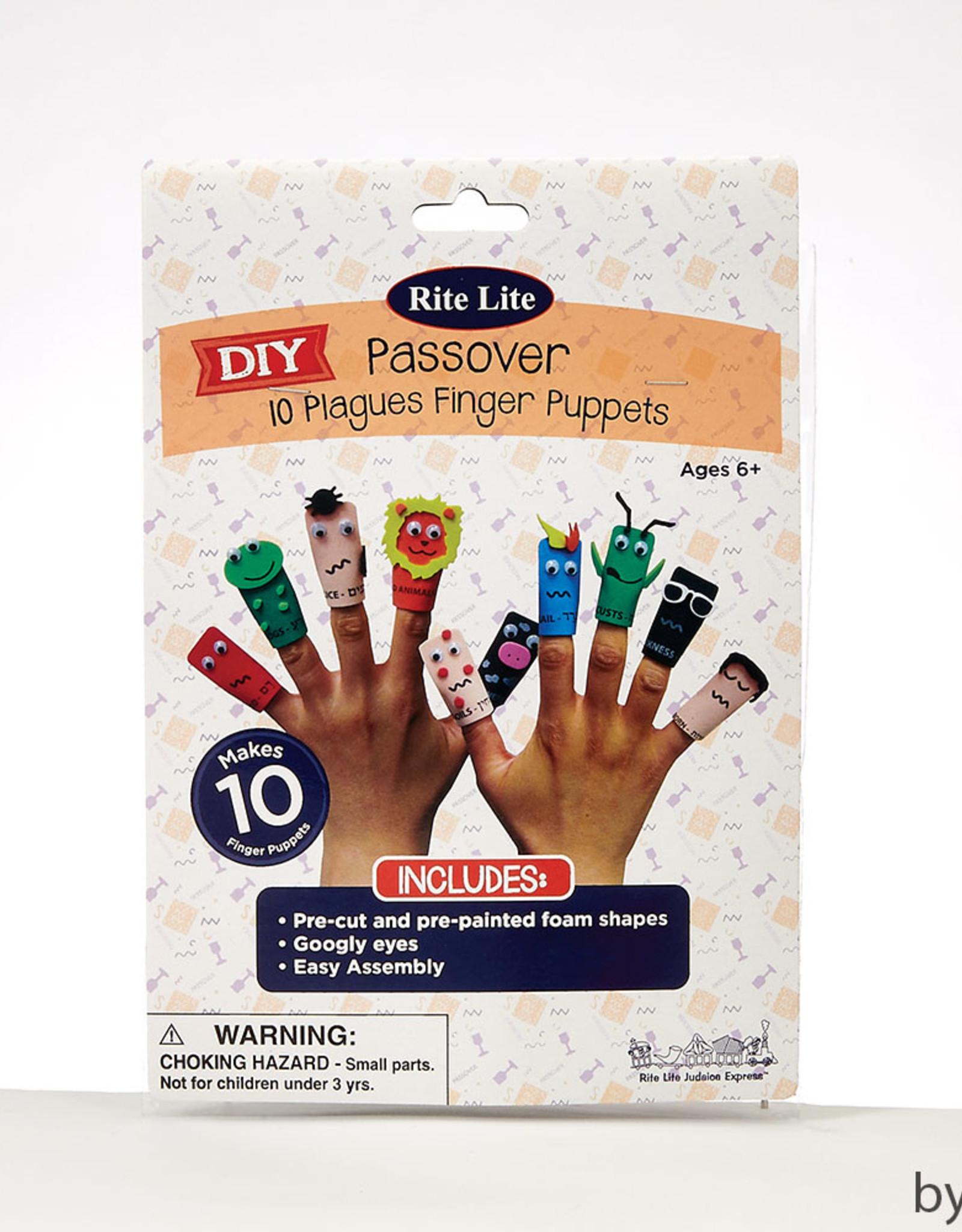 Ten Plagues Finger Puppet Craft, Foam