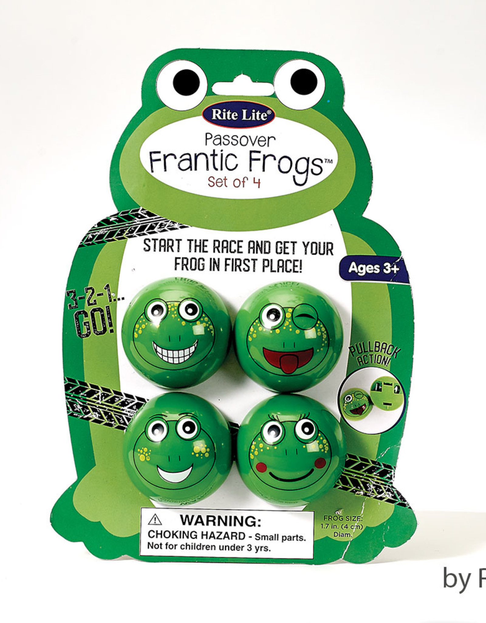 Passover ''Frantic Frogs'', set of 4