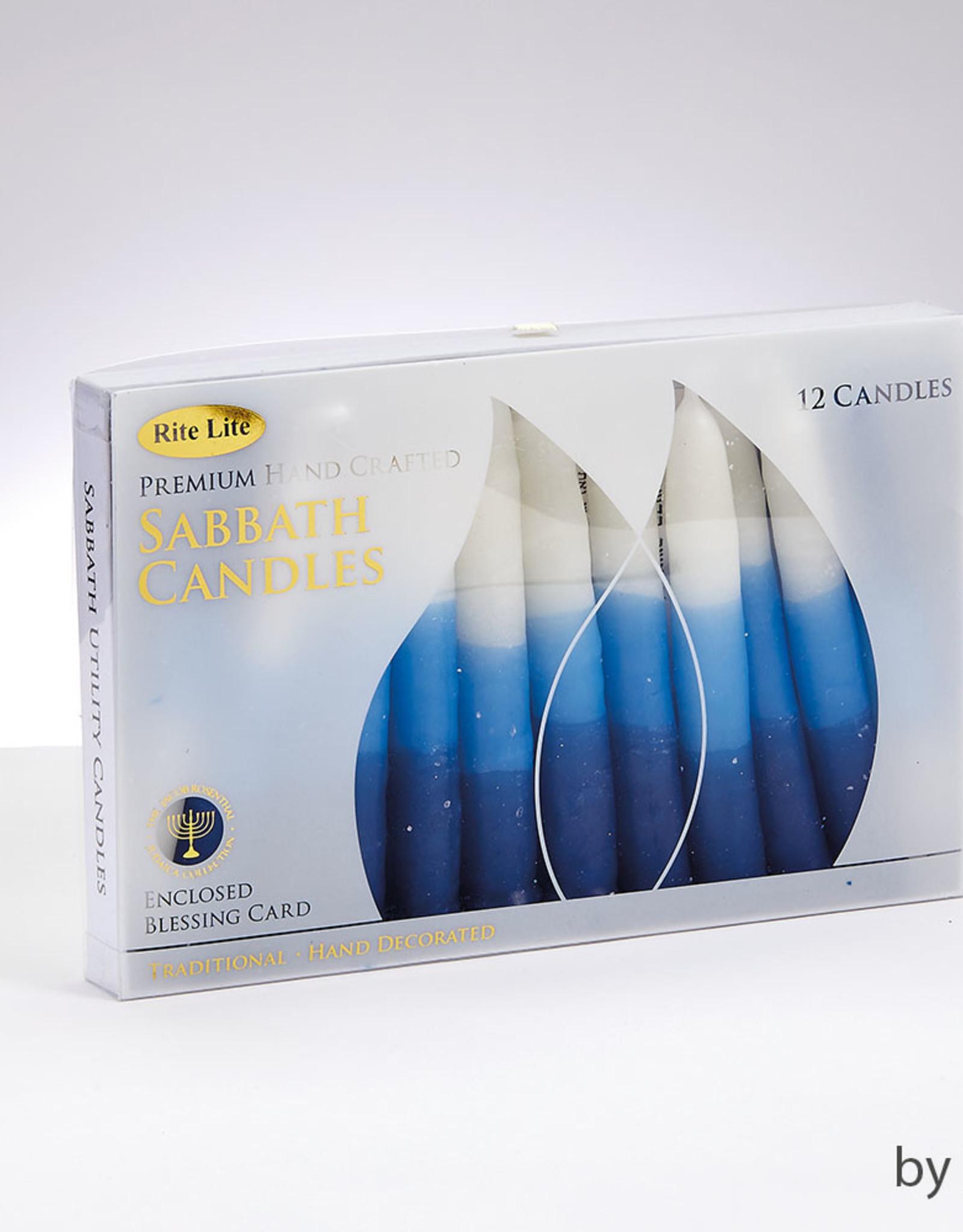 Candles, Premium Shabbat - BW