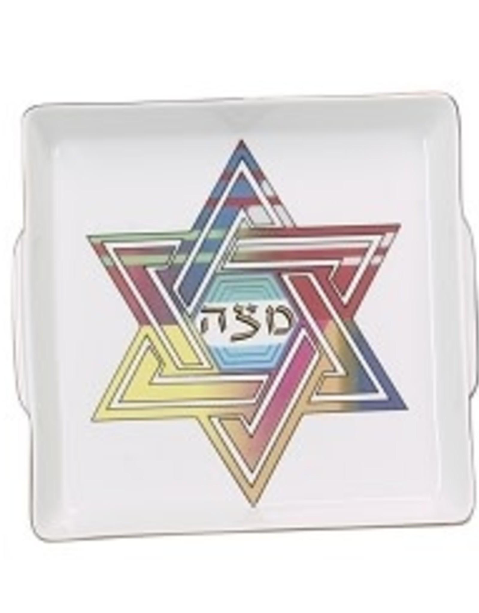 Matzah Tray , Star