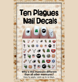 Midrash Manicures Ten Plagues Nail Decals