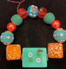 Bracelet, Mahjong 4 Dot