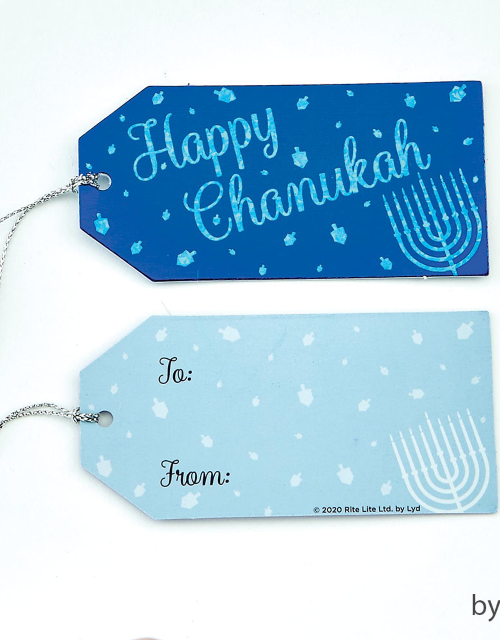 Chanukah Gift Tags