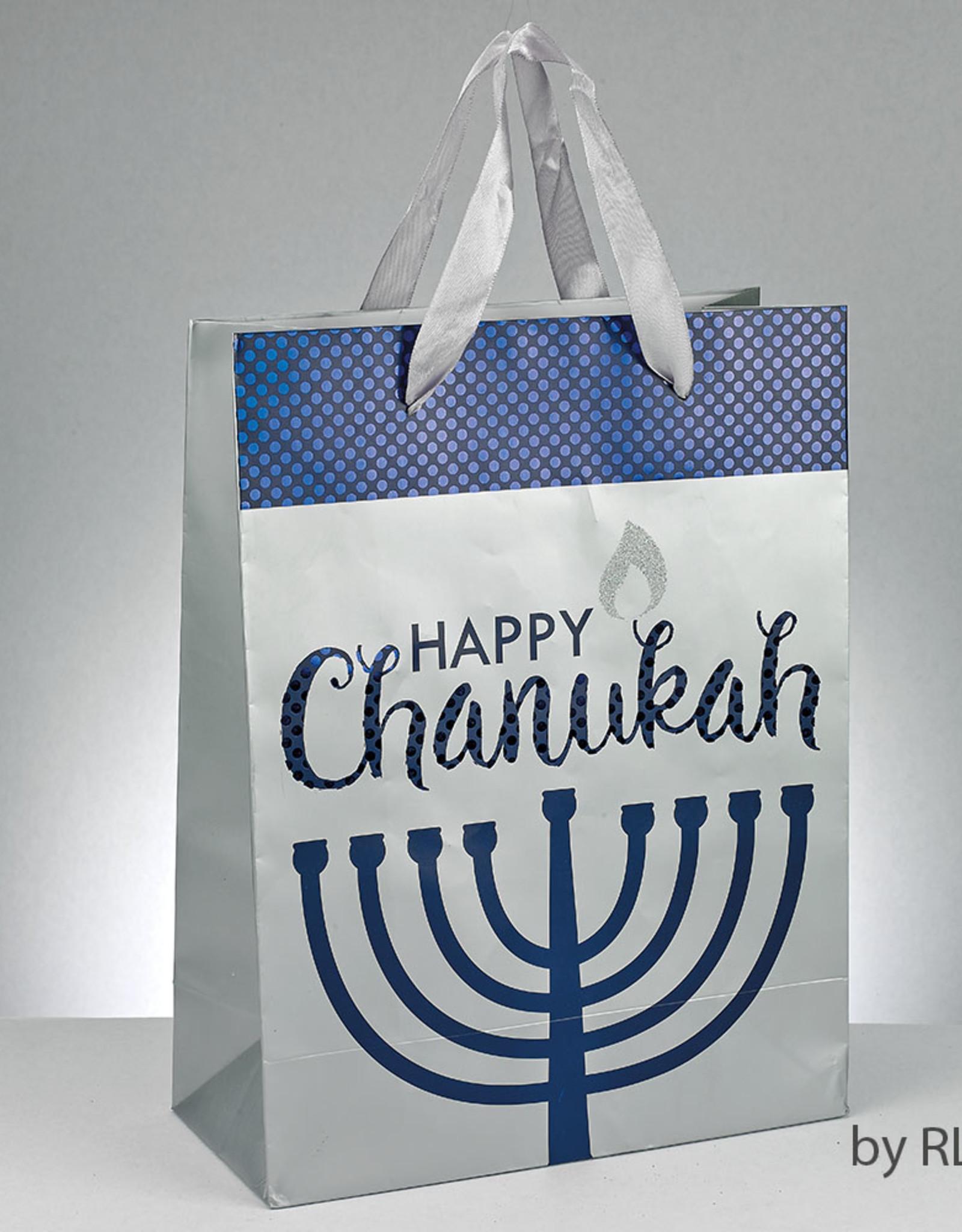 Chanukah, Happy Chanukah Large Gift Bags