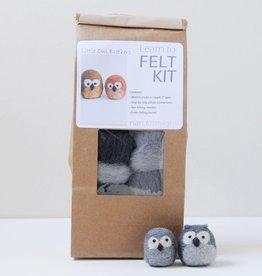 Nan.C Designs Owl felting kit