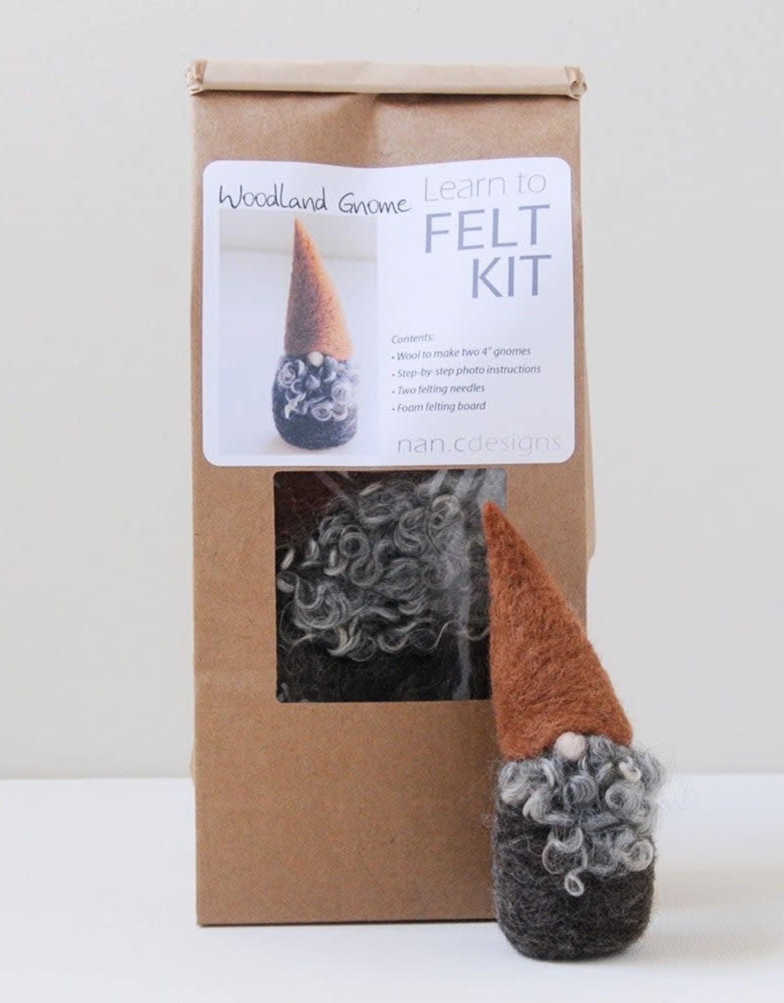 Nan.C Designs Woodland Gnome felting kit