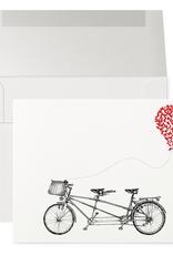 Petits Mots Petits Mots Card, Bike & Heart