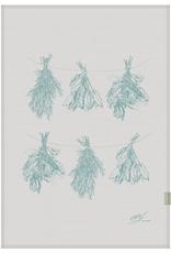 Petits Mots Petits Mots Linen Tea Towel, Fine Herbs