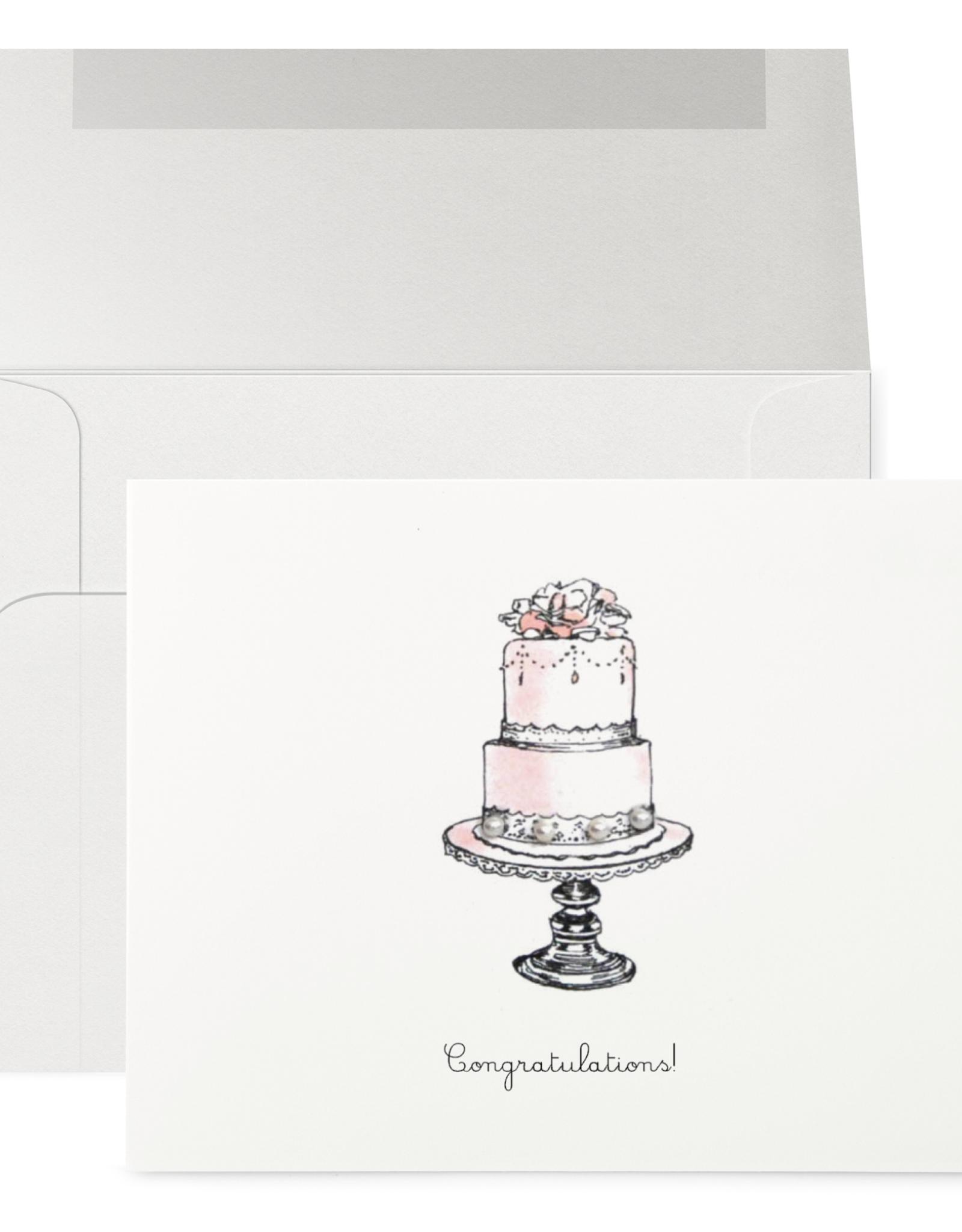 Petits Mots Petits Mots Card, Wedding Cake