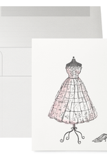 Petits Mots Petits Mots Card, Wedding Dress