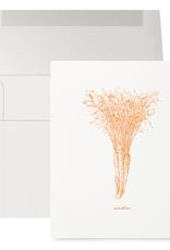 Petits Mots Petits Mots Card, Carrots