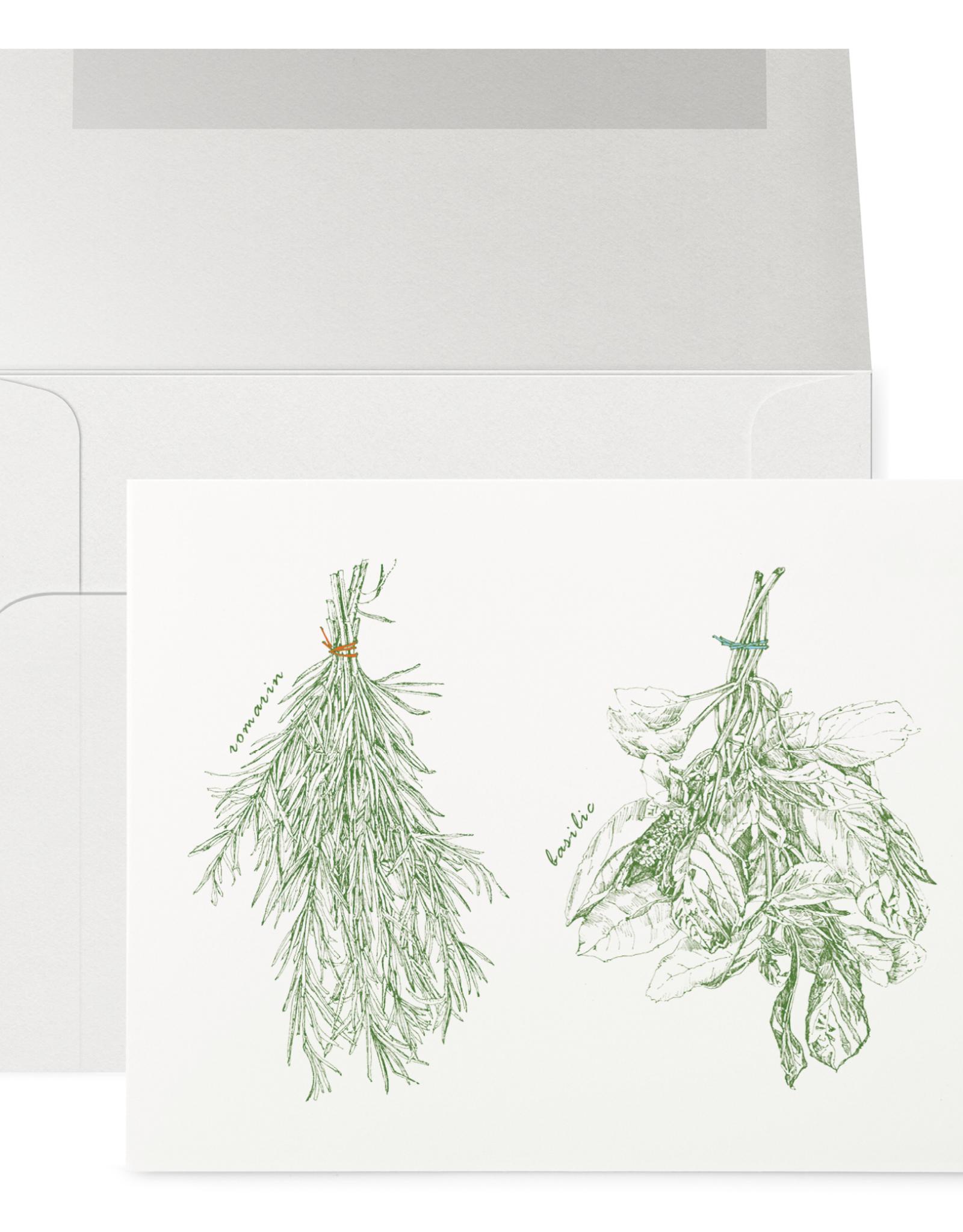 Petits Mots Petits Mots Card, Fine Herbs