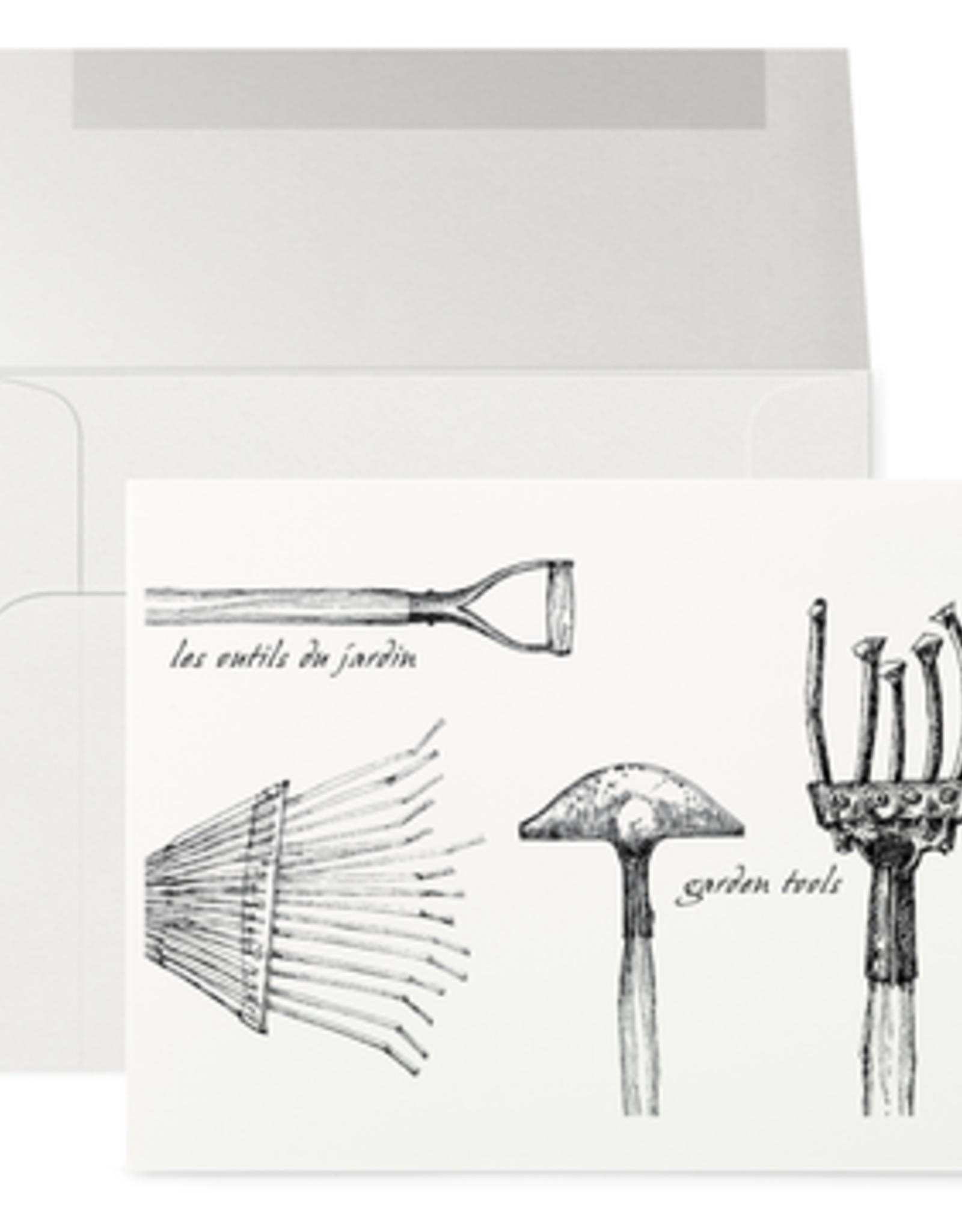 Petits Mots Petits Mots Card, Garden Tools