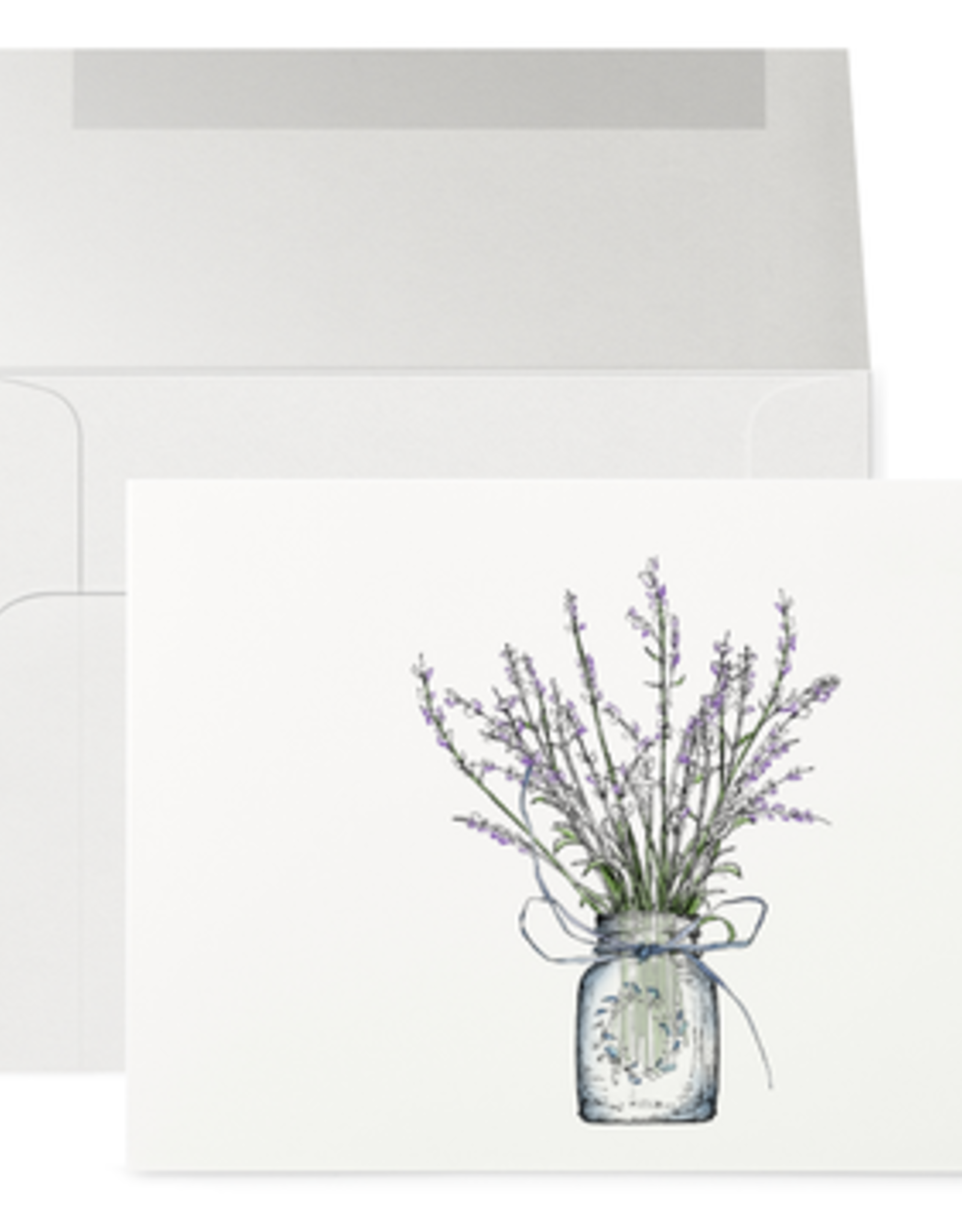 Petits Mots Petits Mots Card, Lavender Jar