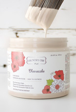 Country Chic Country Chic Paint Sample - 4oz Cheesecake