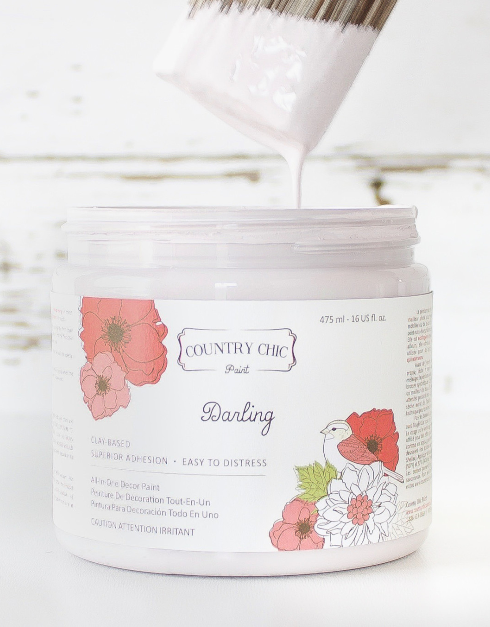 Country Chic Country Chic Paint Sample - 4oz Darling