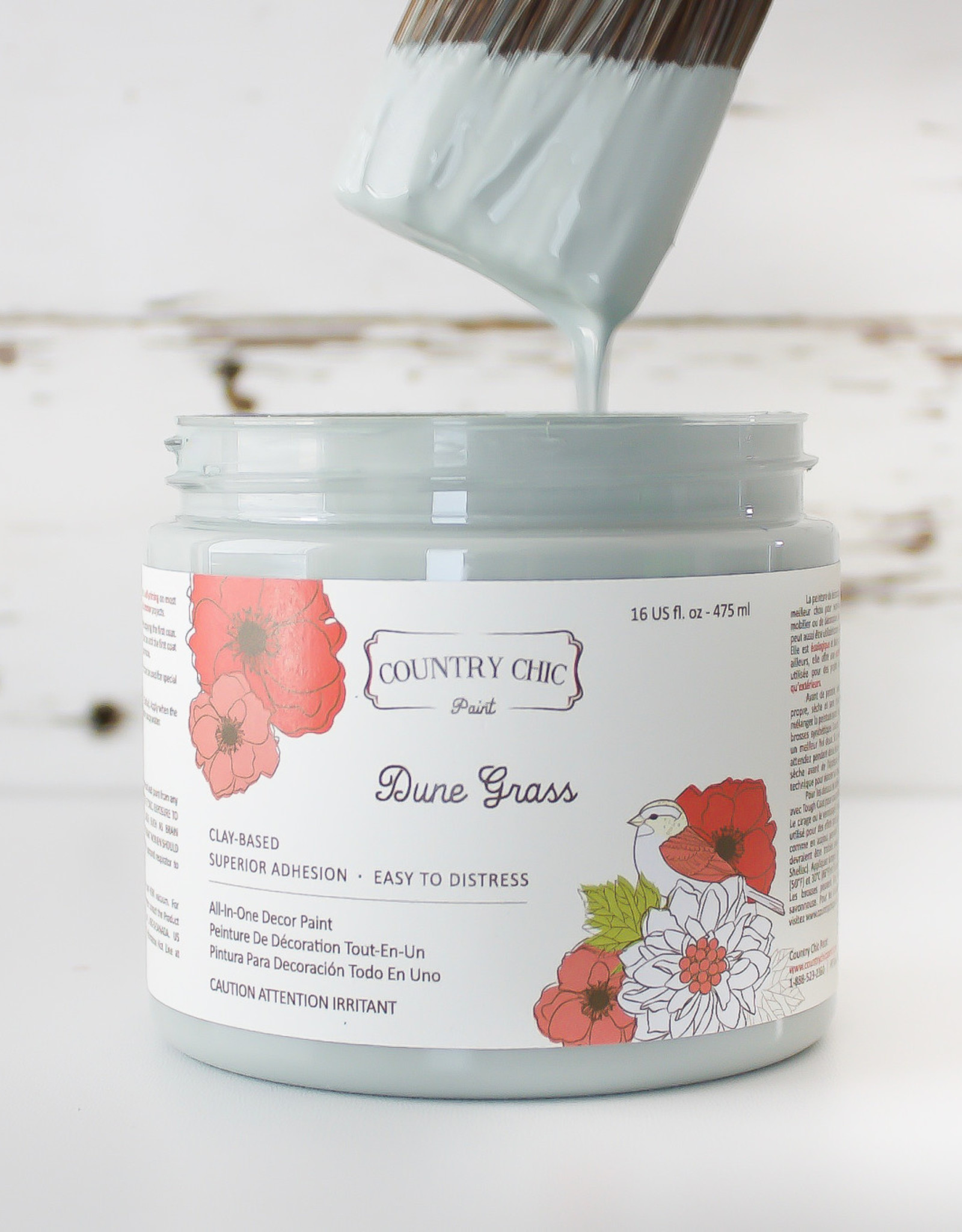 Country Chic Country Chic Paint Sample - 4oz Dune Grass