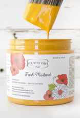 Country Chic Country Chic Paint Sample - 4oz Fresh Mustard