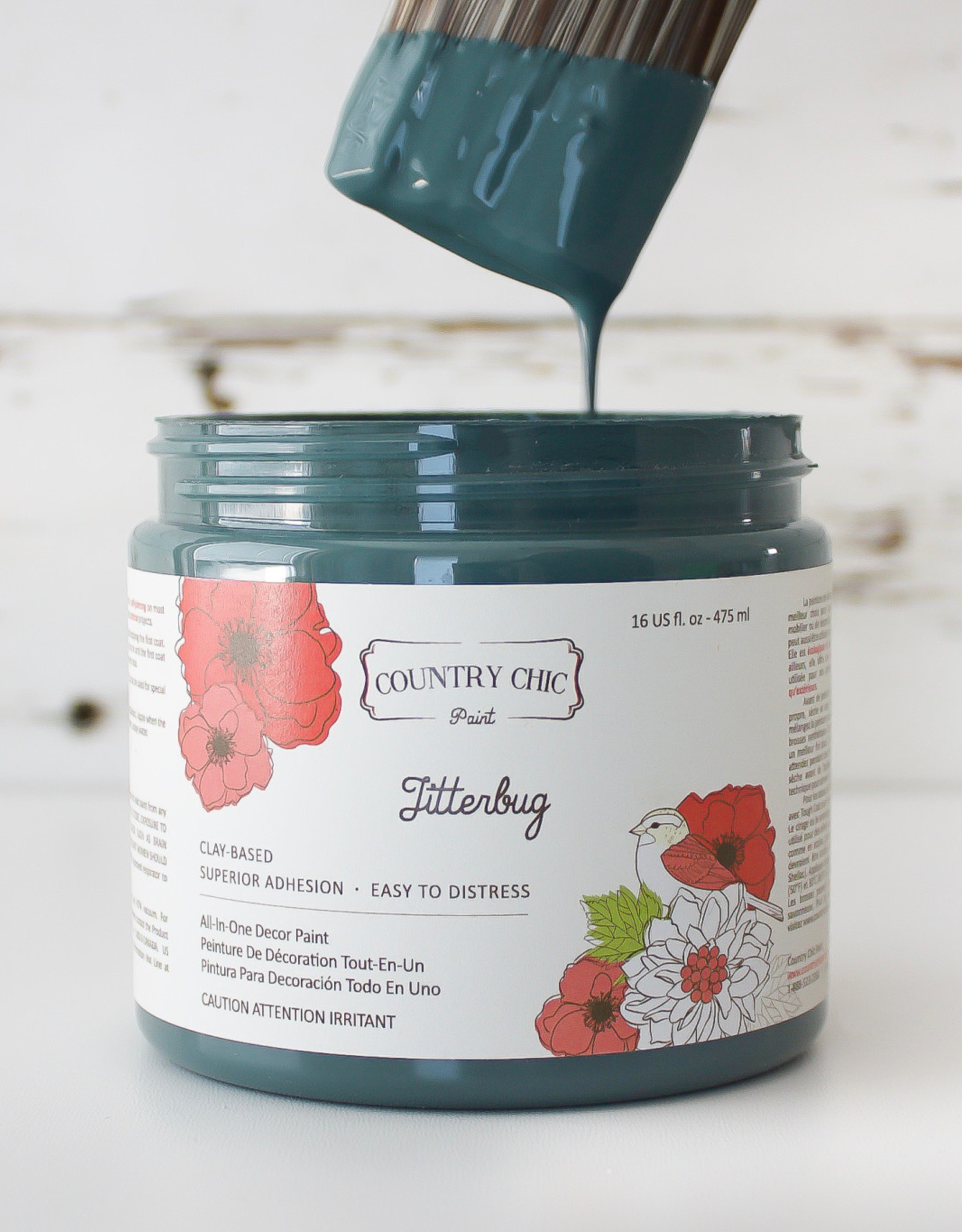 Country Chic Country Chic Paint Sample - 4oz Jitterbug