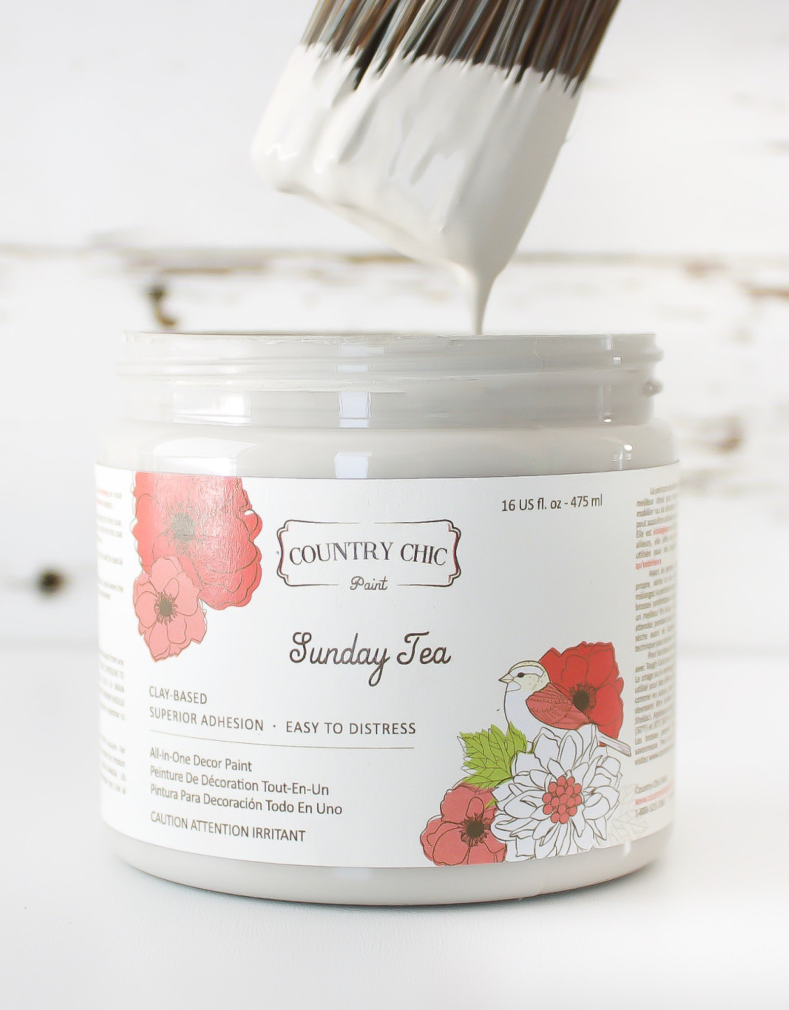 Country Chic Country Chic Paint Sample - 4oz Sunday Tea