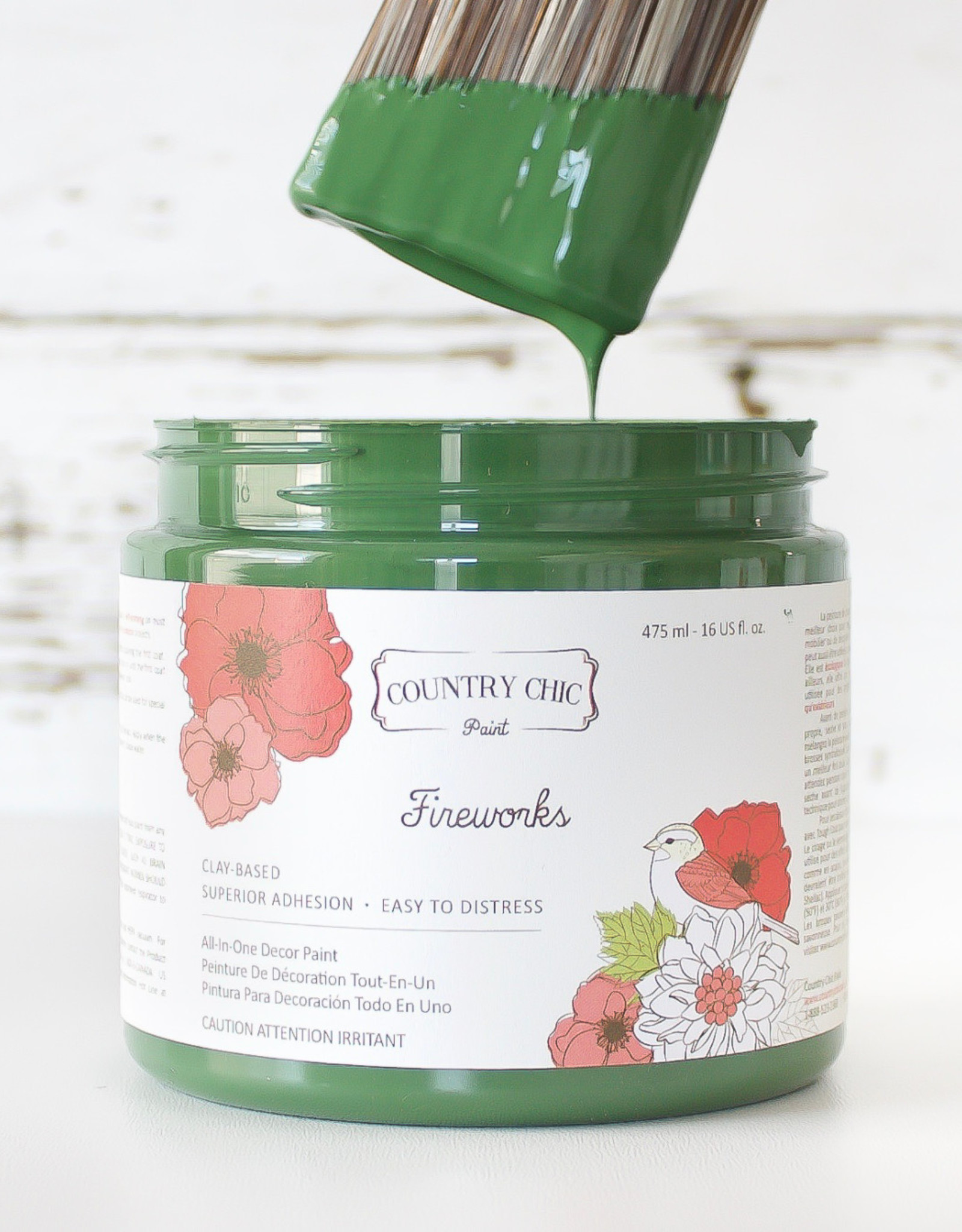 Country Chic Country Chic Paint Sample - 4oz Fireworks