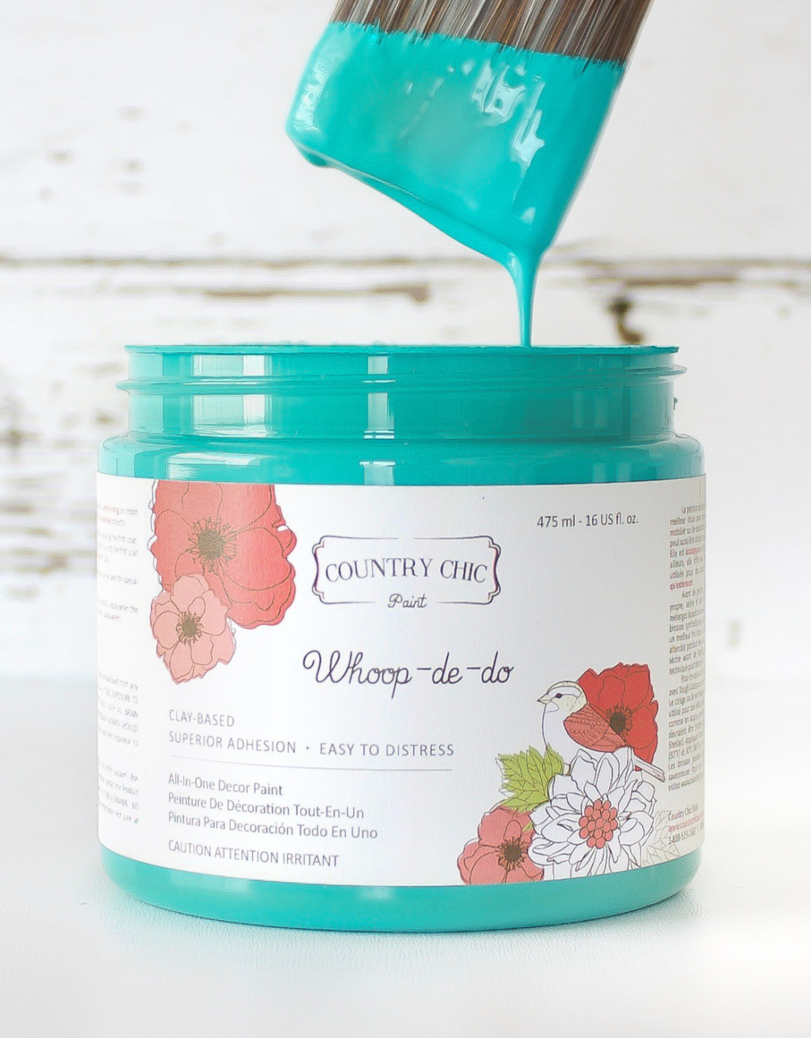 Country Chic Country Chic Paint Pint - 16oz Whoop-de-do
