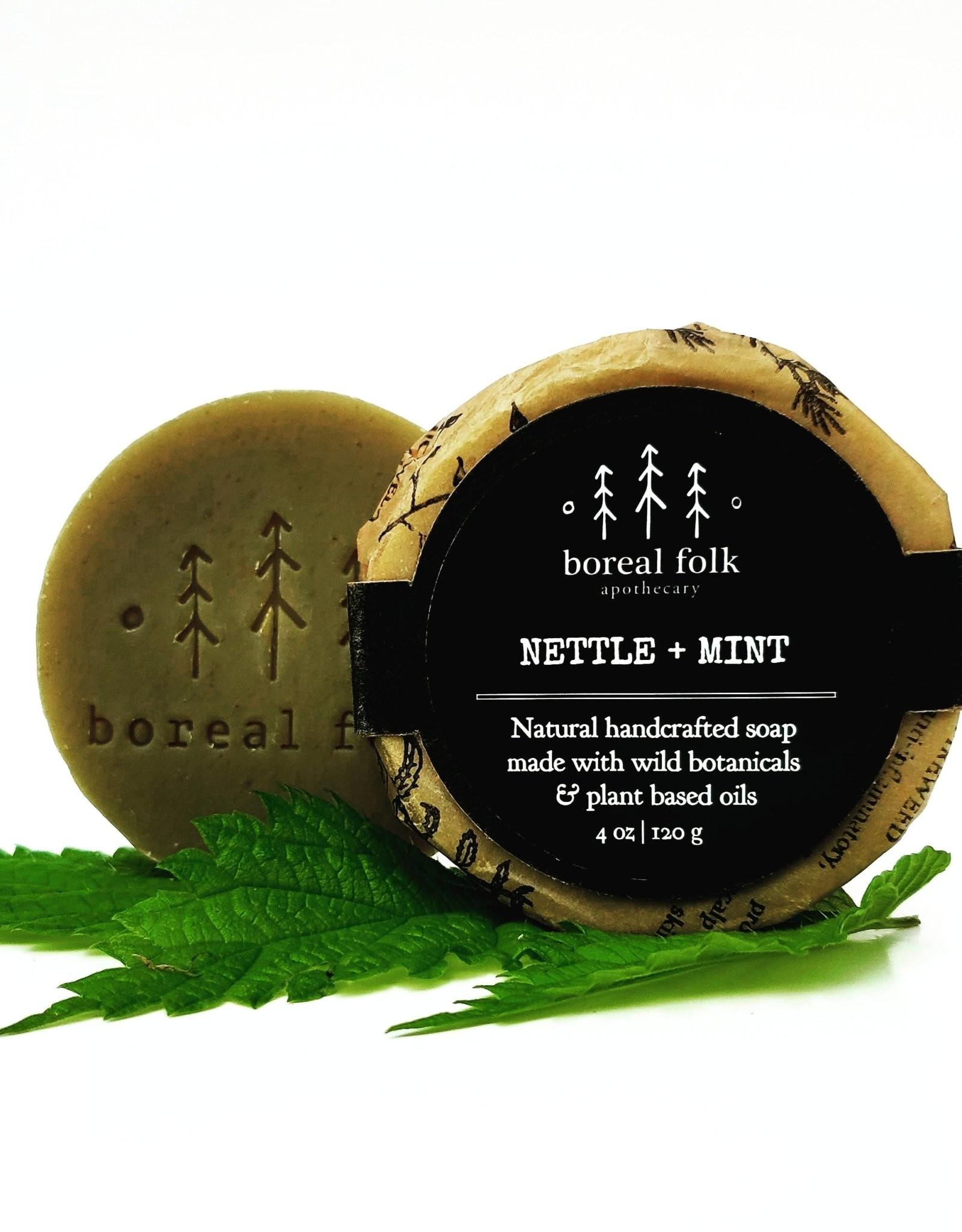 Boreal, Nettle & Mint soap