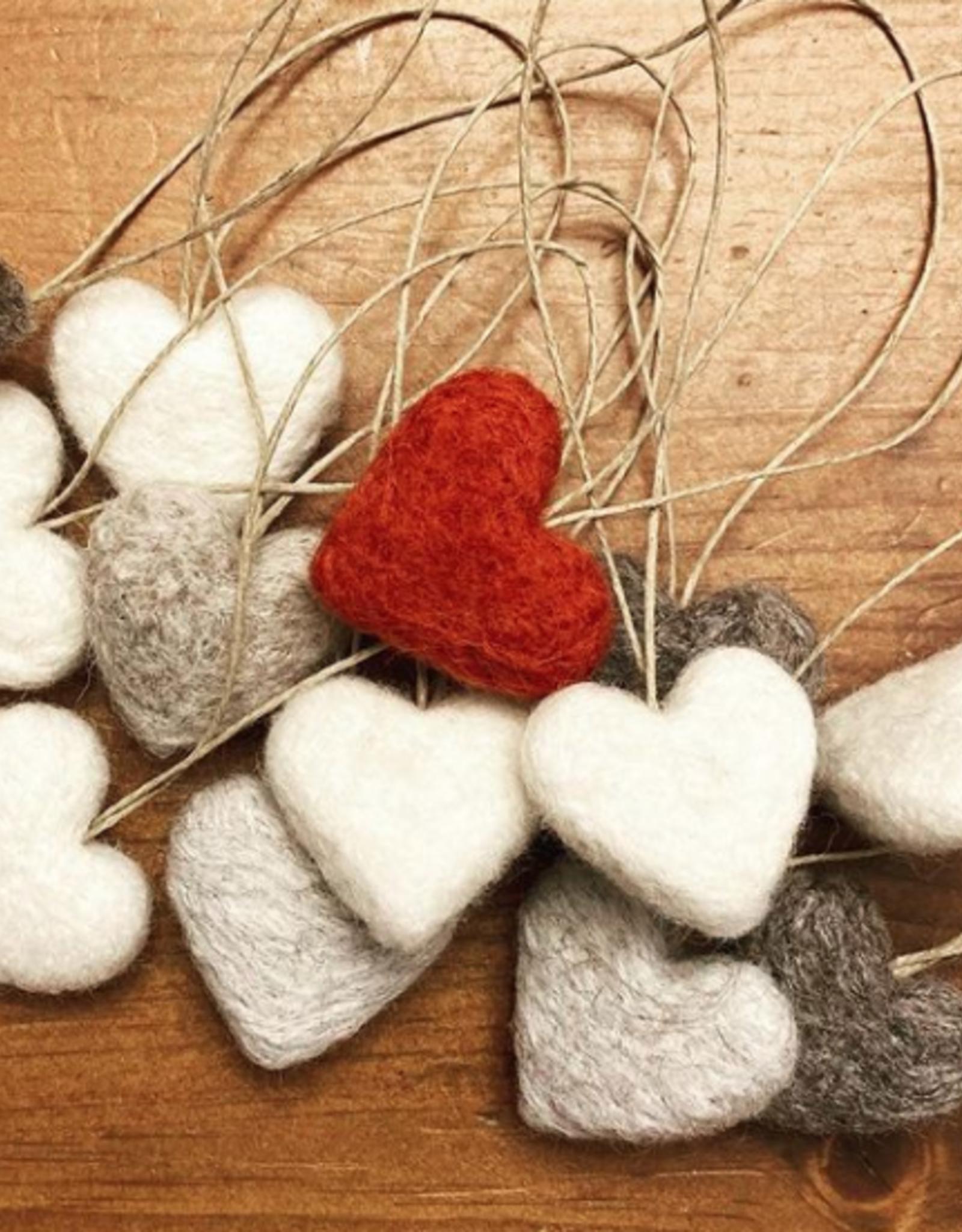 Crowberry - Felt Hearts
