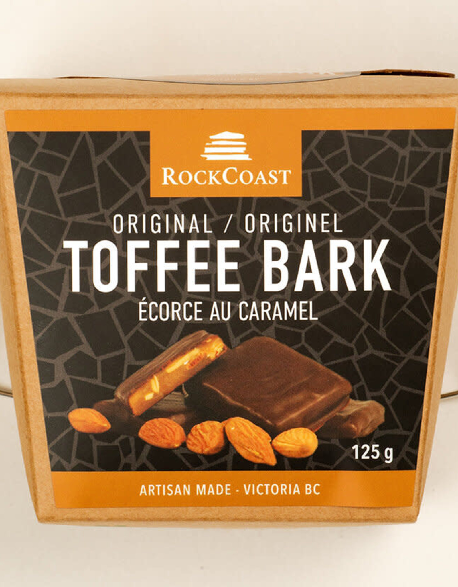 RockCoast Rock Coast Toffee bark - Original 125g box