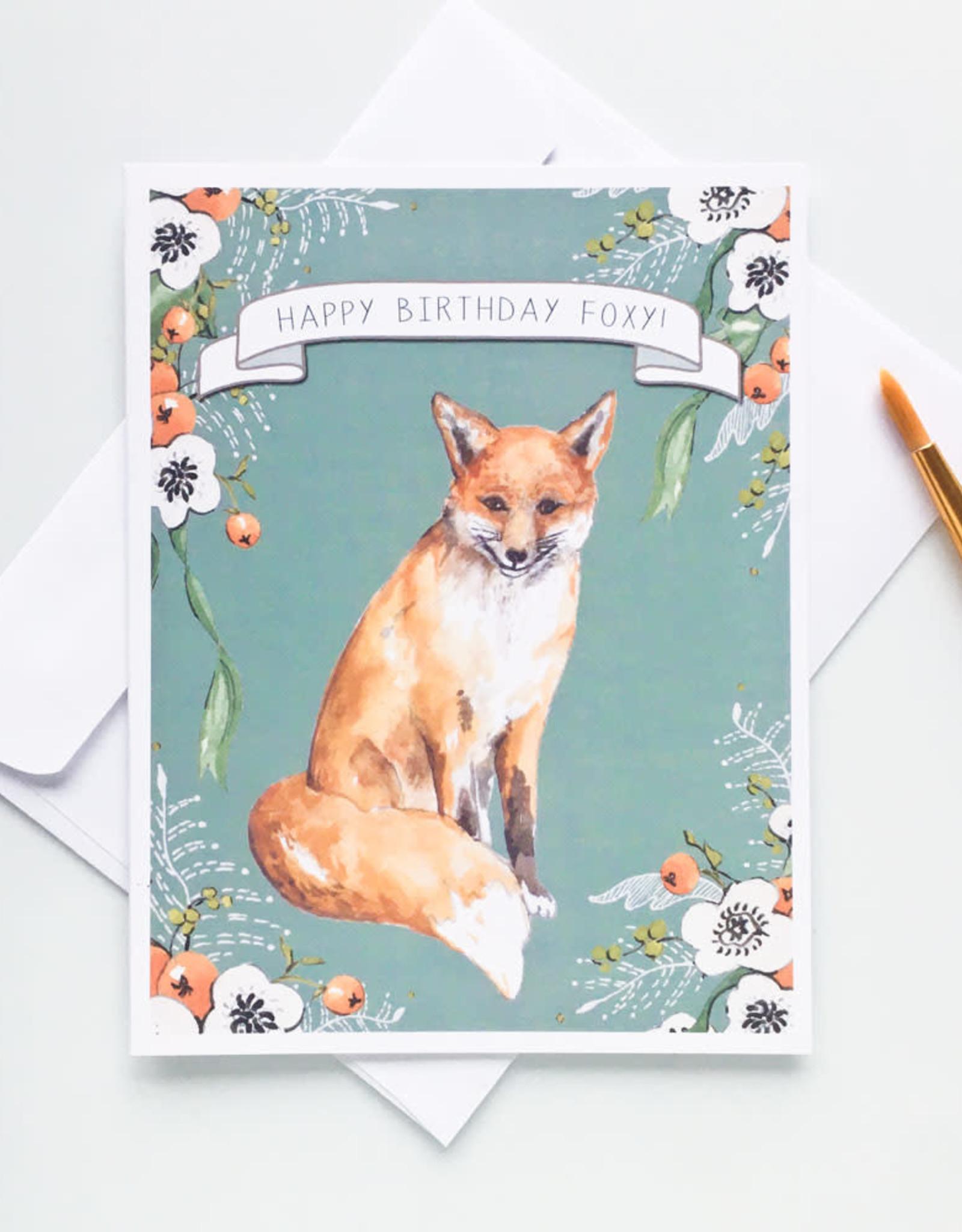 Highberry Dew Happy Birthday Foxy