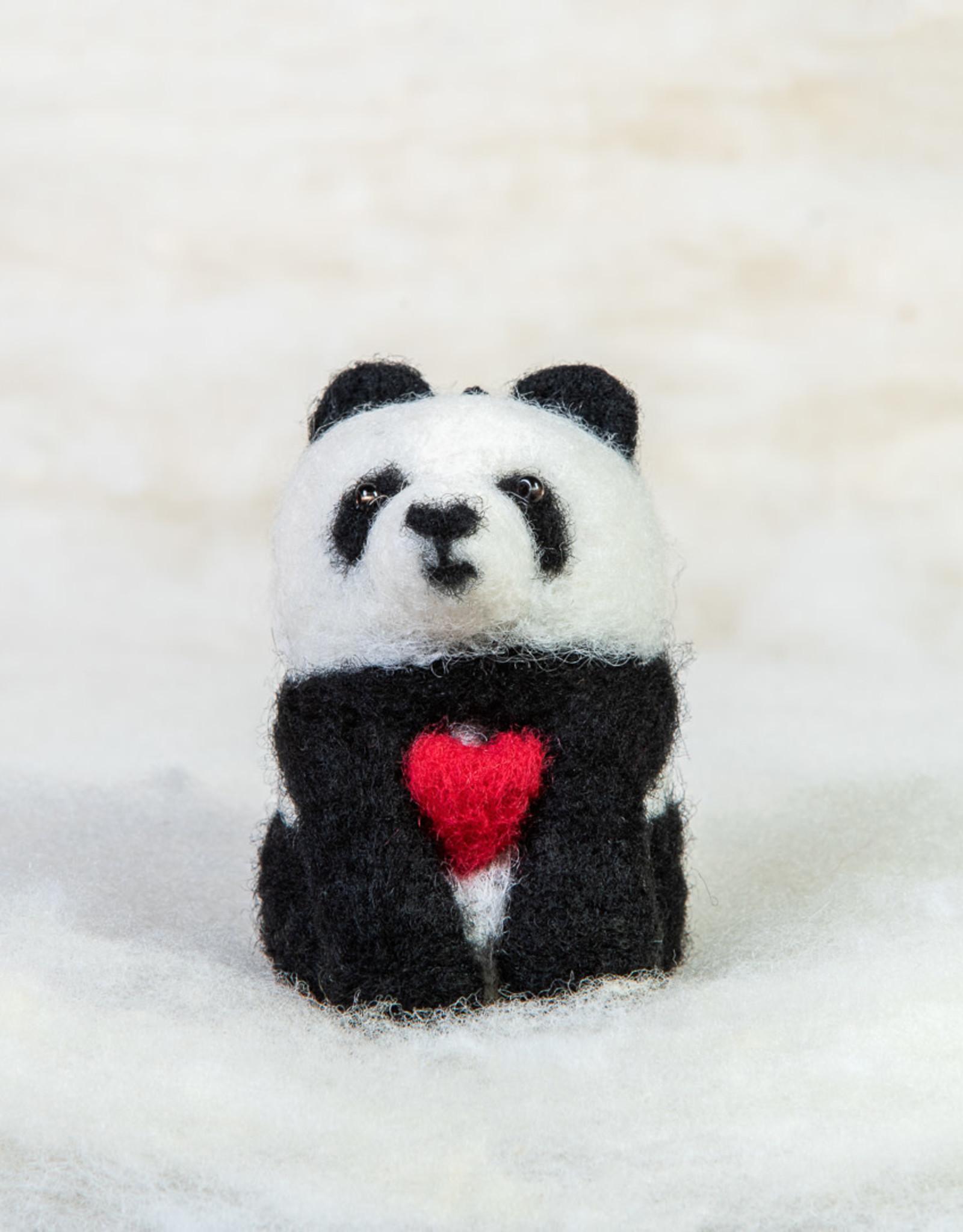 Spectacled Bear Panda Bear with Heart