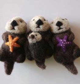 Spectacled Bear Otter with Purple star