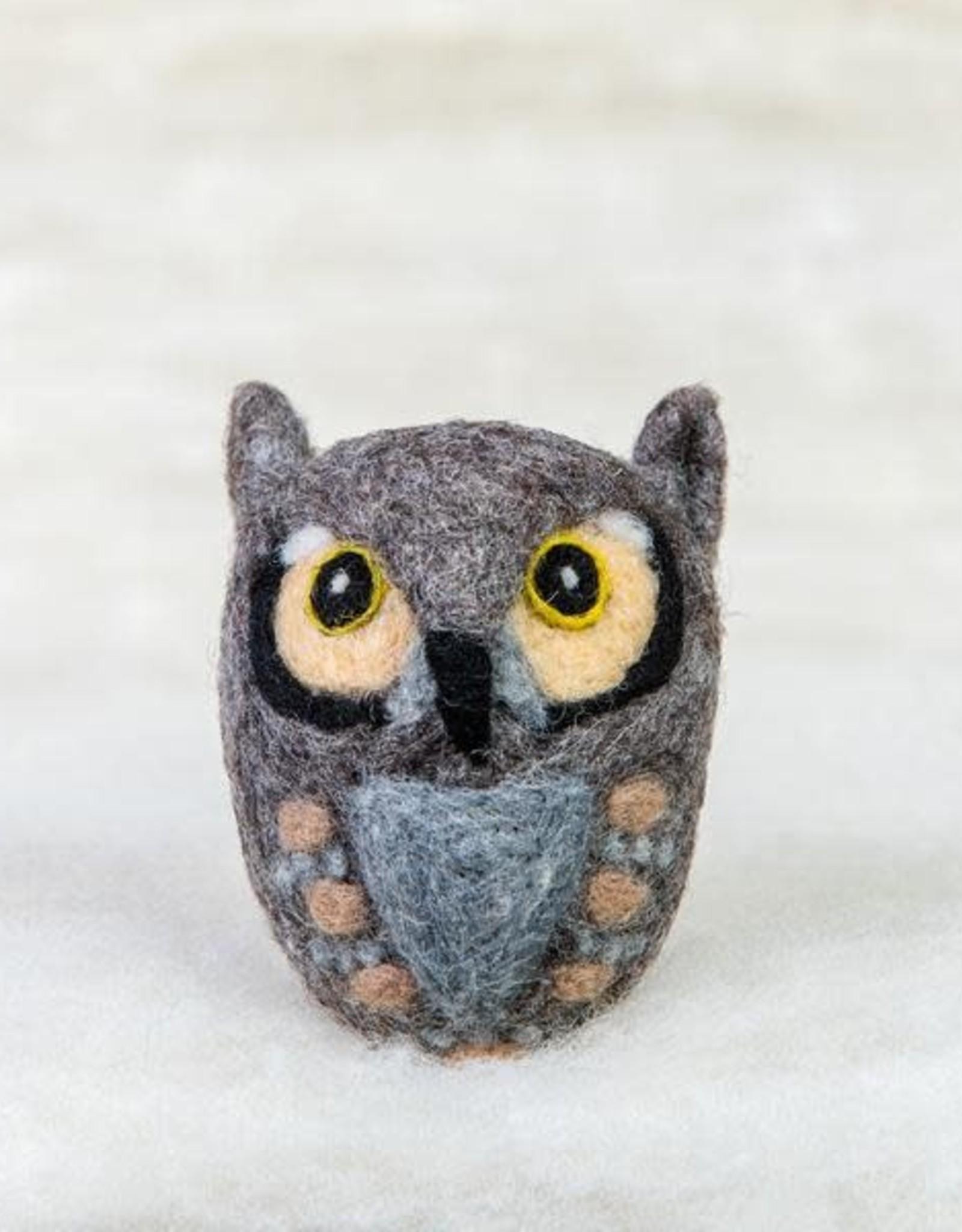 Spectacled Bear Horned Owl