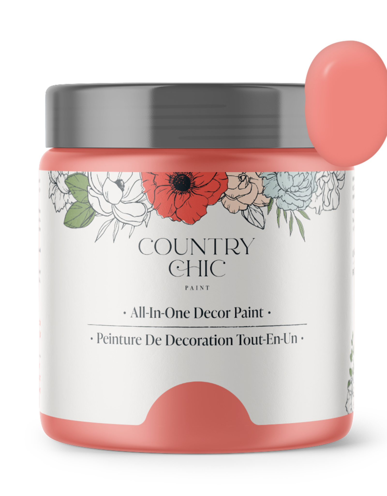 Country Chic Paint Pint - 16oz Sunset Glow