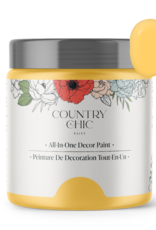Country Chic Paint Sample - 4oz Yellow Wellies