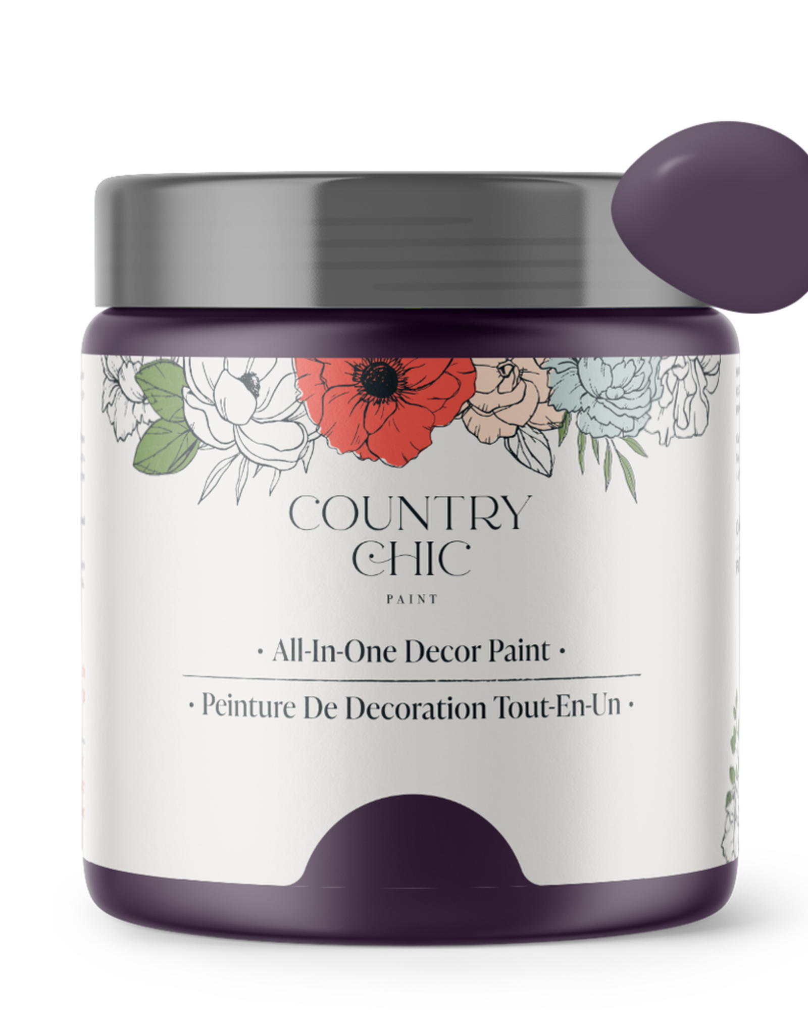 Country Chic Paint Sample - 4oz Opulence