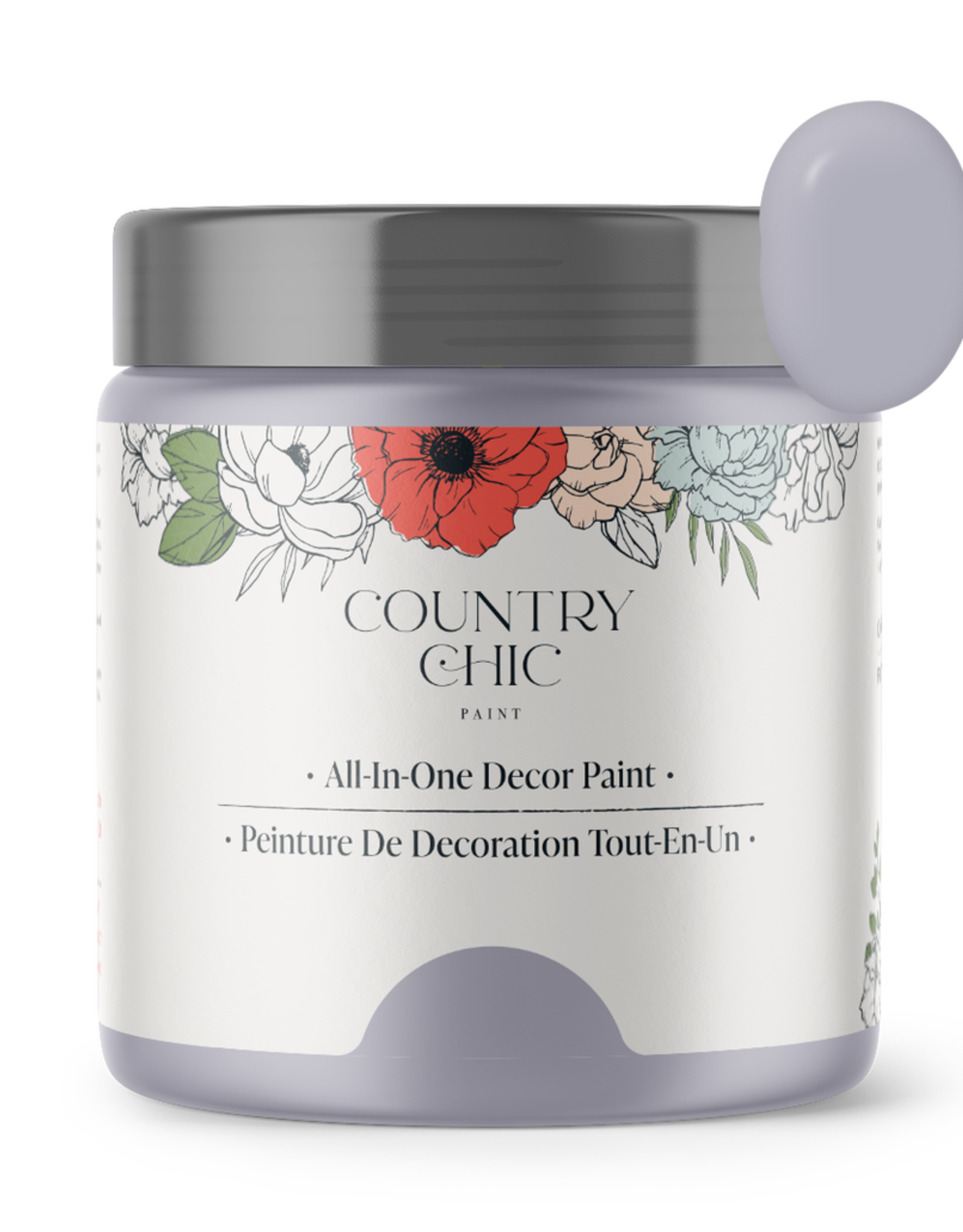 Country Chic Paint Sample - 4oz Wisteria