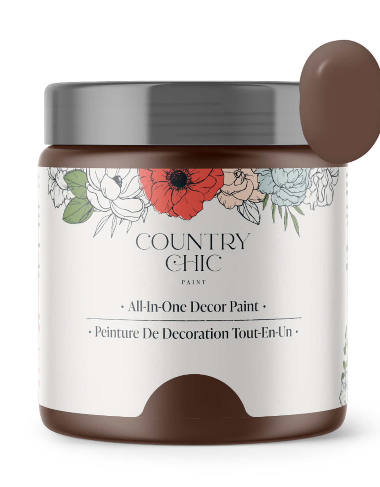 Country Chic Paint Sample - 4oz Leather Bound