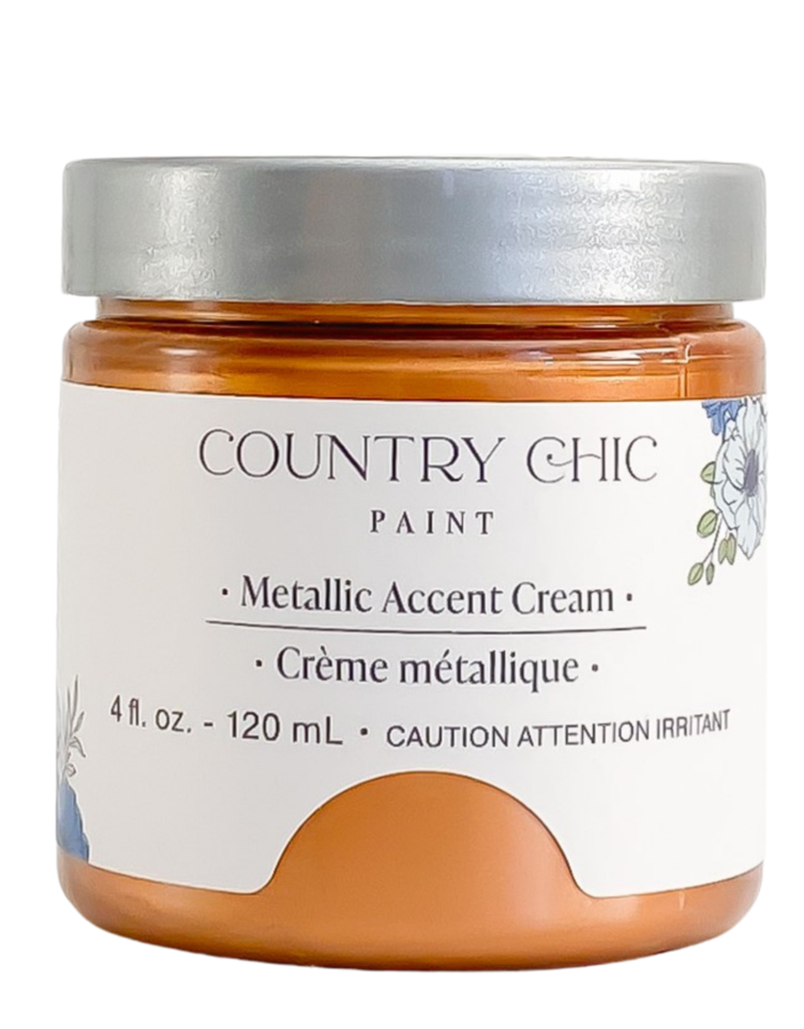 Country Chic Metalic Cream, 4oz Lucky Penny