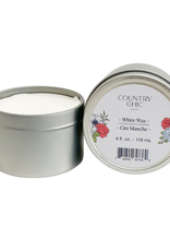 Country Chic White Wax 8oz