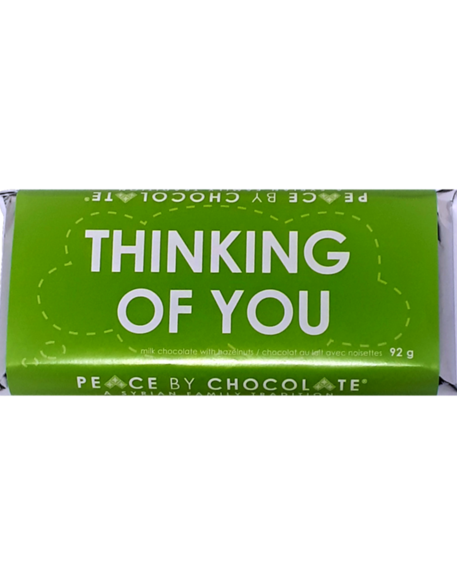 Peace By Chocolate Milk Chocolate Thinking of You Bar