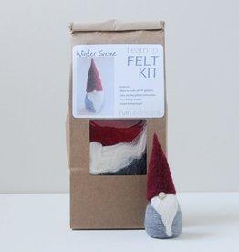 Nan.C Designs Winter gnome felting kit