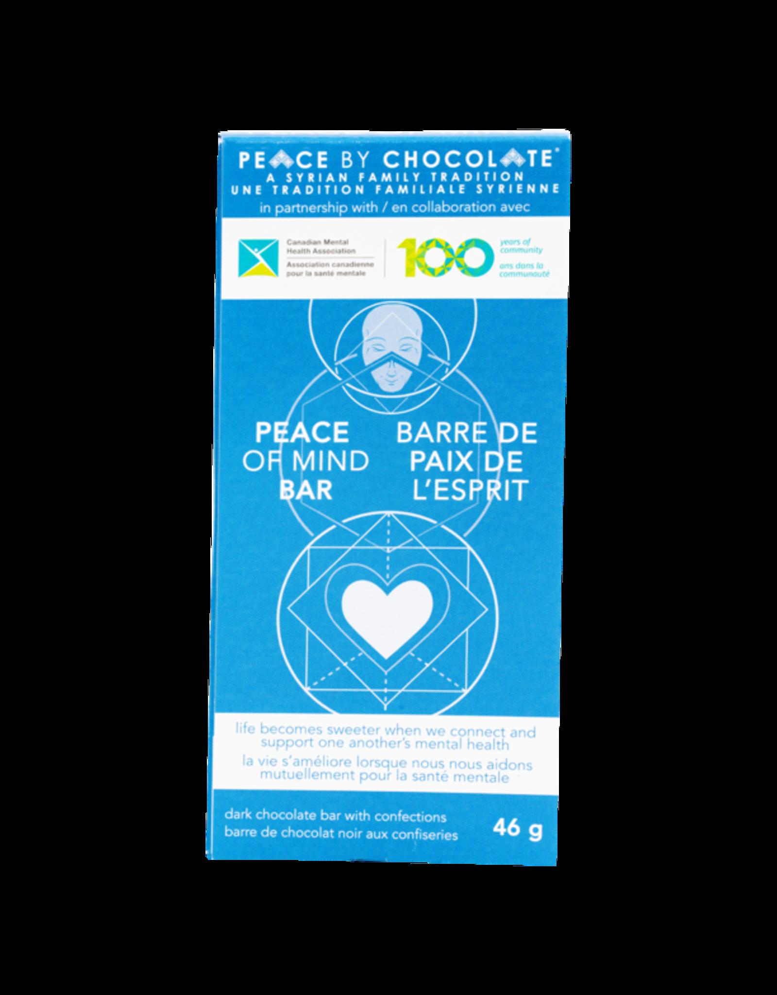 Peace by Chocolate Peace of Mind Dark Chocolate Bar 46g