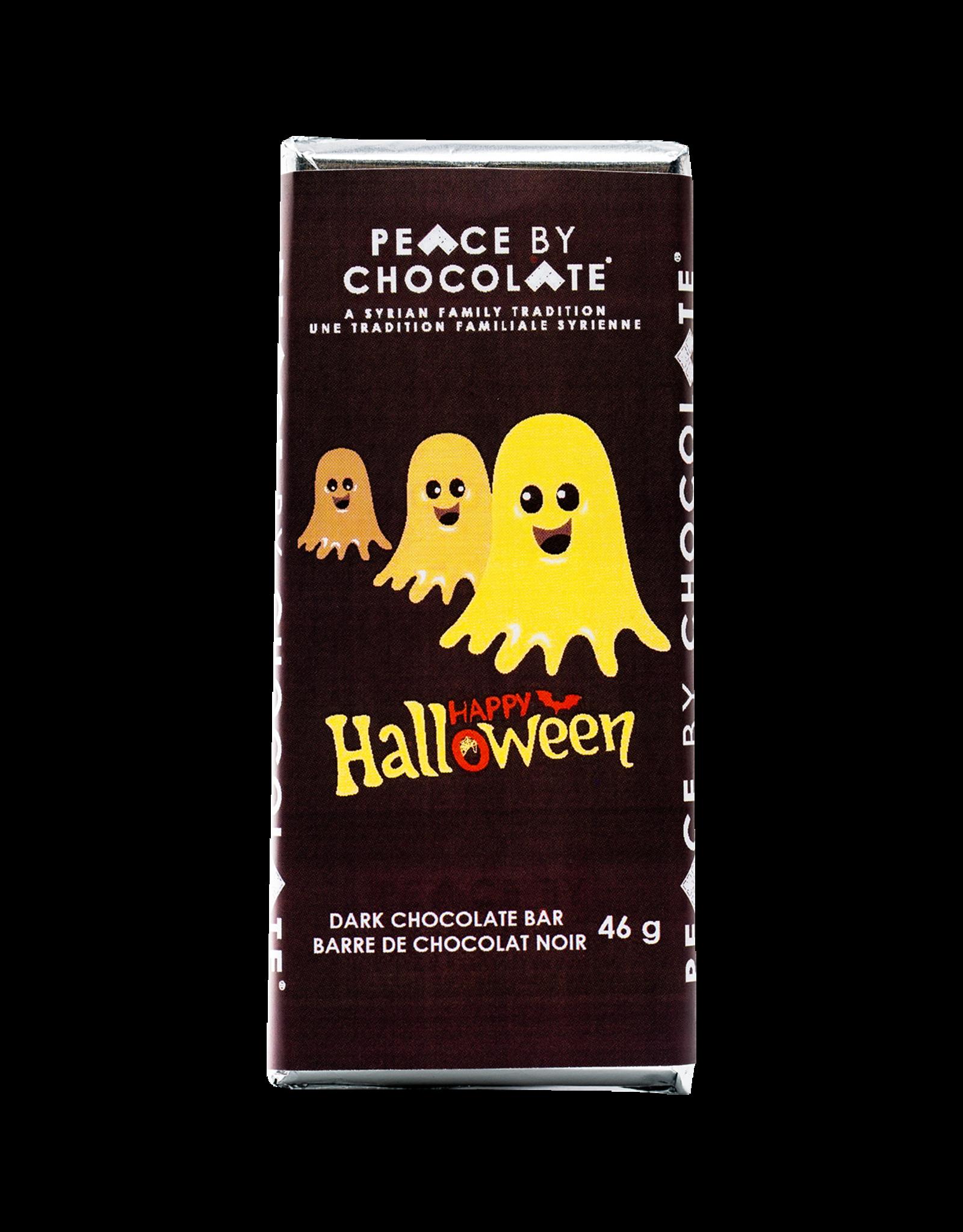 Peace by chocolate, Halloween dark chocolate bars