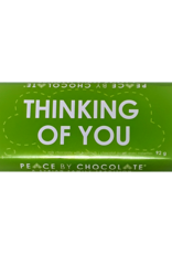 Peace By Chocolate Dark Chocolate Thinking of You Bar