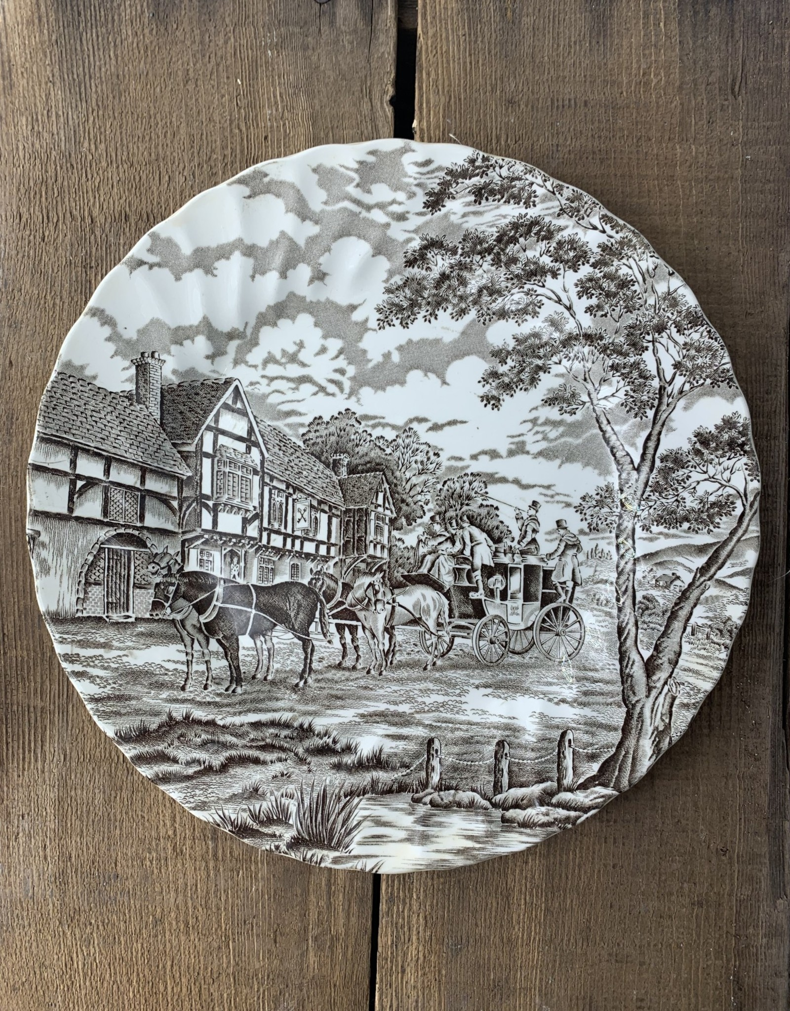 Royal Mail Dinner plate