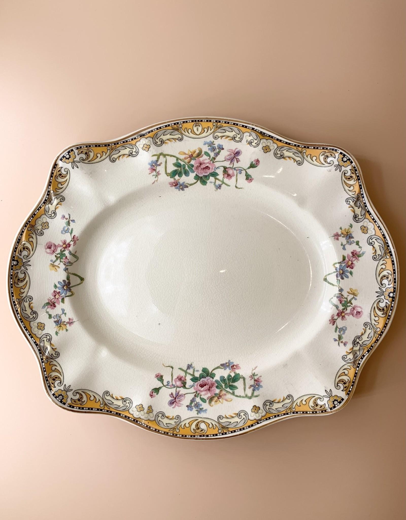 Johnson Bros Victorian Platter