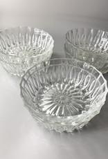 Set of 6 Crystal Dessert bowls
