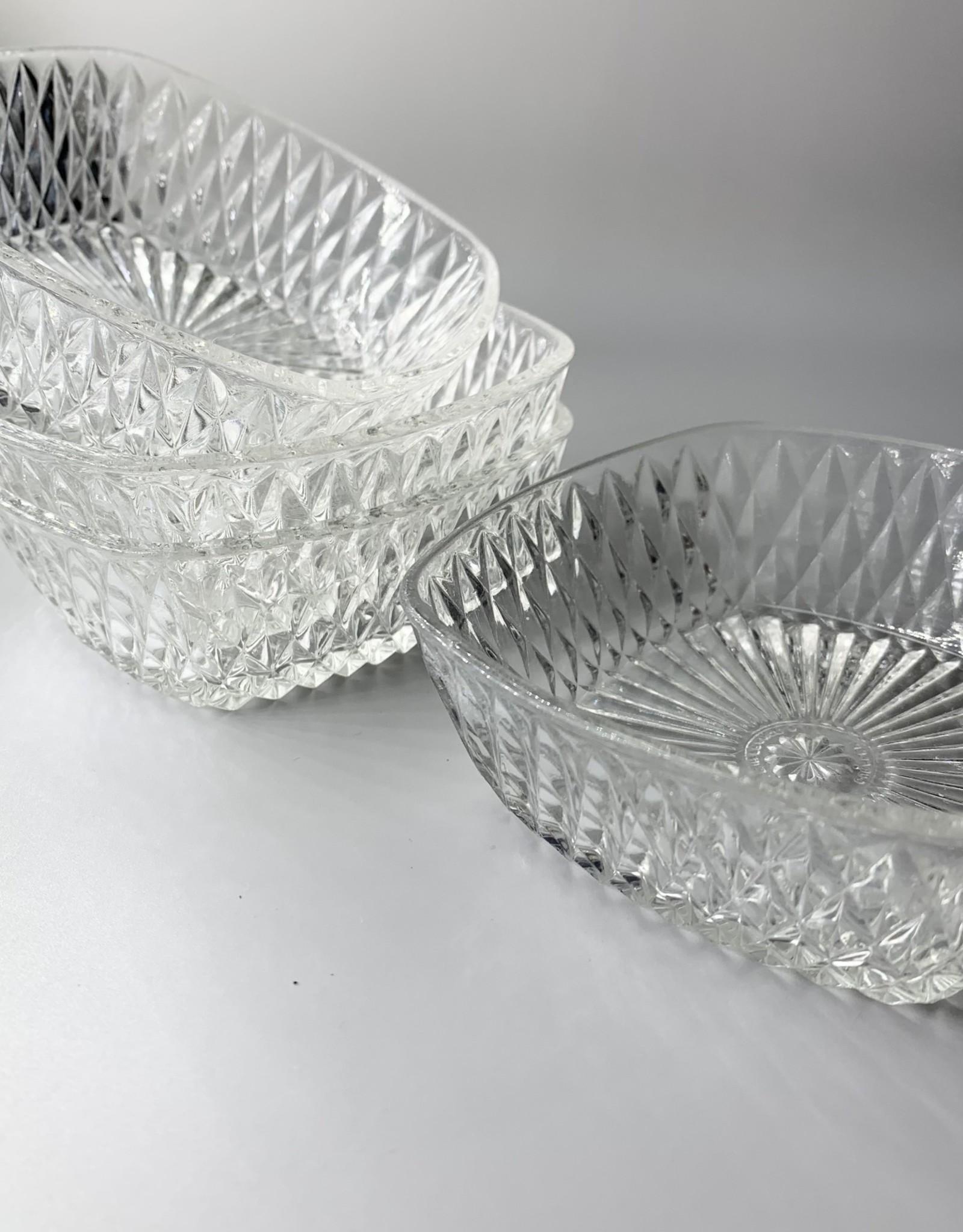 Set of 4 Square Dessert Bowls