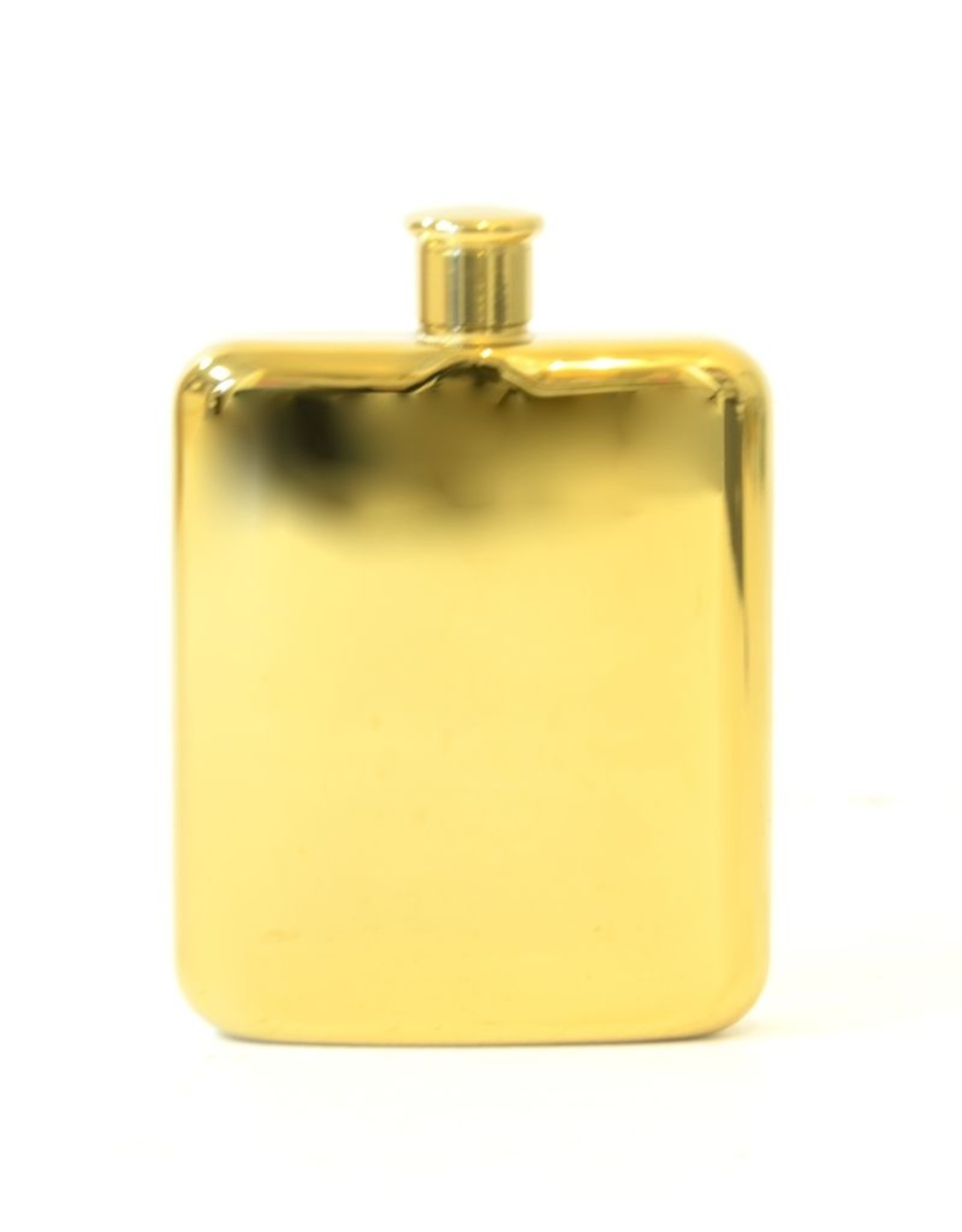 Gold Plated Flask